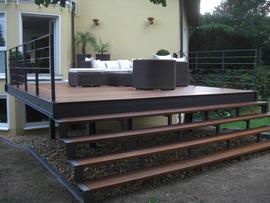 Stahl Terrasse stahl terrasse - home ideen