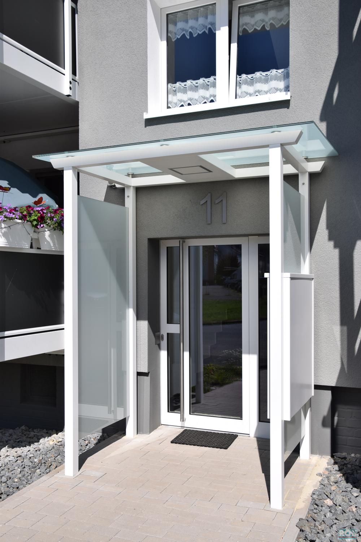 Gewaltig Eingangsüberdachung Beste Wahl Eingangsüberdachung