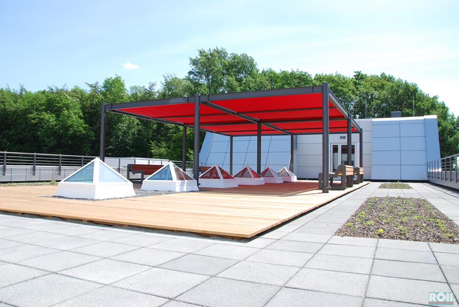 terrassen unterkonstruktion aus stahl pin terrasse aus bangkirai on. Black Bedroom Furniture Sets. Home Design Ideas